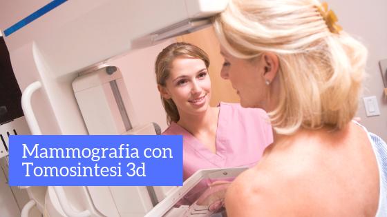 mammografia con tomosintesi roma